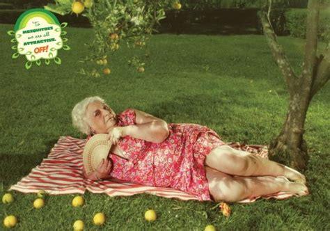 bbw backyard off mosquito repellent quot granny quot print ad by draftfcb