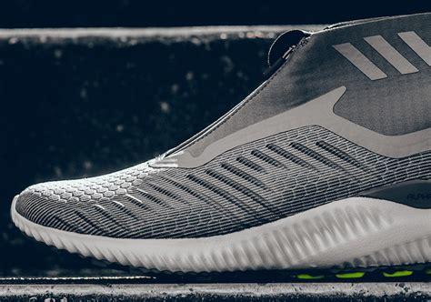 Adidas Alphabounce Black Grey Original Sneakers adidas alphabounce mid grey bw1385 sneakerfiles