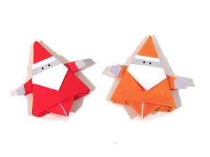 Chrismas Origami - origami santa claus how to make an easy