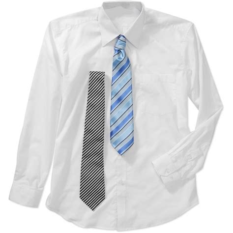 s dress shirts with 2 matching ties