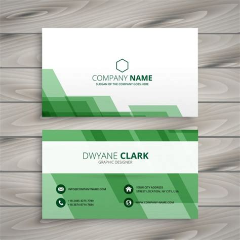 Green And White Business Card Template by Cheap Business Cards 25 Free Psd Ai Vector Eps Format