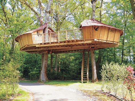 beautiful tree houses prime home design beautiful tree keyc s tree house france the most unusual hotels in