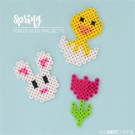 bead craft ideas for easter perler bead crafts and next comes l