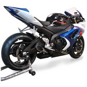 08 Suzuki Gsxr 1000 Gsx R 1000 Megaphone Exhaust 2007 10 Bodies Racing