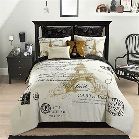 black and white paris comforter set paris bedding find premium paris eiffel tower bedding