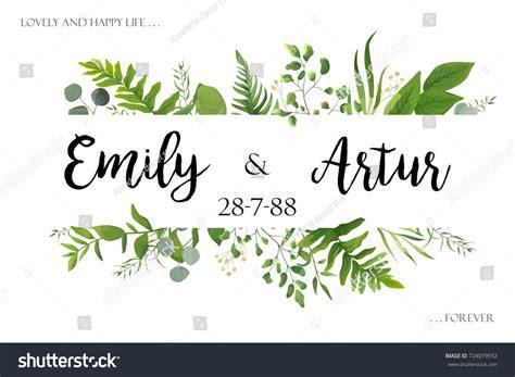 Wedding Card Floral Designs Vector by Wedding Invite Invitation Card Vector Floral Stock Vector