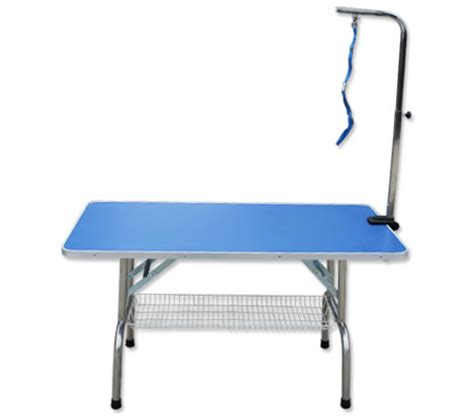 grooming table with adjustable arm for cats, dogs and pets