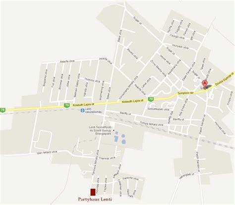 map city lenti city map