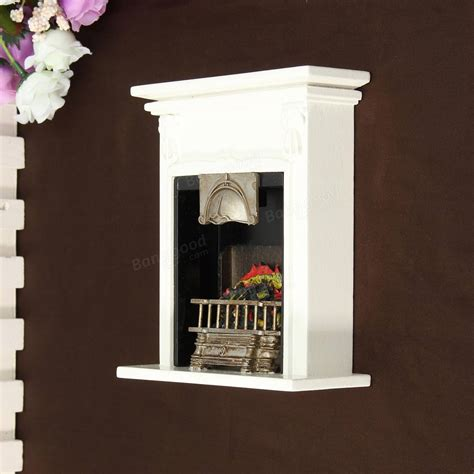 black home decor accessories new black fireplace diy dollhouse miniature furniture