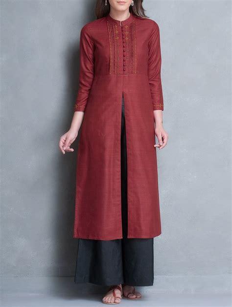 kurti pattern with collar 1000 images about kurtis tunics on pinterest silk