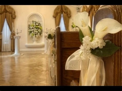 a tour of chapel of the flowers a las vegas wedding venue