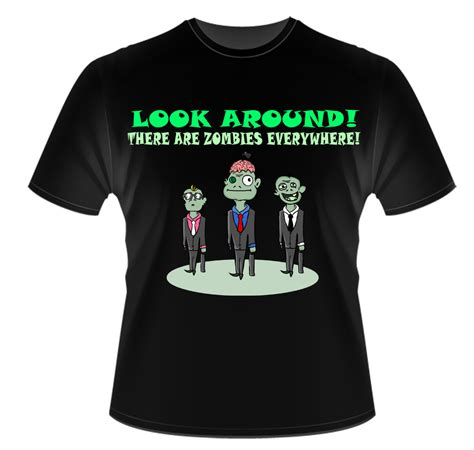 Tshirt K O t shirt design there are zombies everywhere by k o s a k