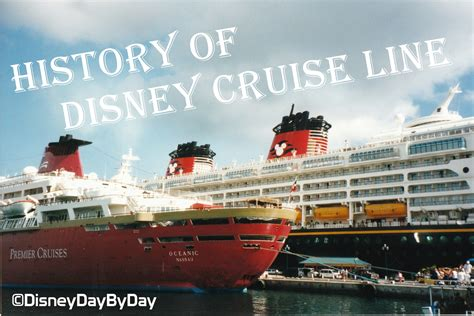 boat names disney the history of disney cruise line