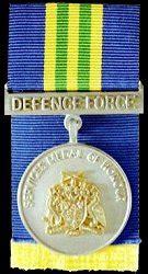 odm of barbados: barbados defence force medal of honour