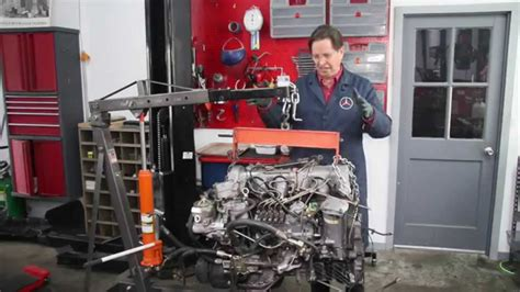 diesel engine swap series mercedes  sd