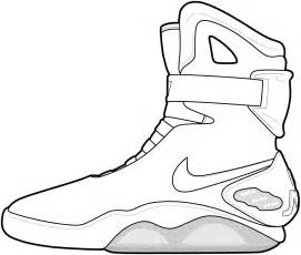 jordan shoes coloring pages coloring pages amp pictures