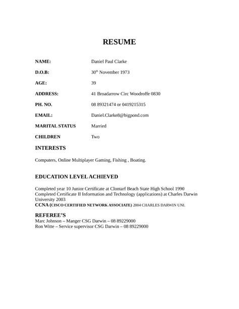 combination field service technician resume template