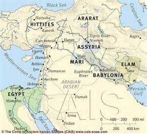map of ancient near east maps iranologie