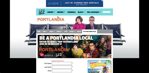 Local Sweepstakes - be a portlandia local sweepstakes win a trip to portland and a walk on role