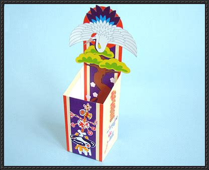 Papercraft Festival - shichi go san festival chitose ame box free