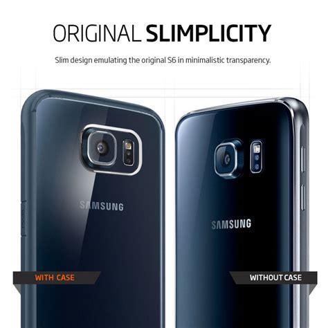 Spigen Ultra Hybrid Soft Cover Samsung Galaxy S6 Edge spigen ultra hybrid samsung galaxy s6 metal slate