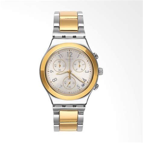 Tali Jam Tangan Swatch 19mm jual swatch dreamnight golden tali stainless steel