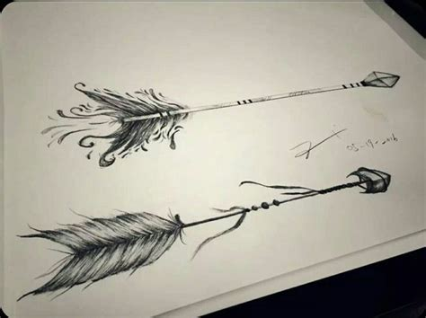 indian arrow tattoo designs pin by shayna on