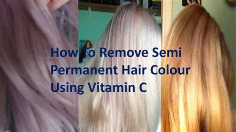 remove semi permanent hair color how to remove semi