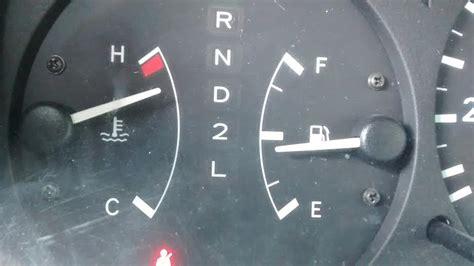 coolant temperature gauge reads higher  halfway mark toyota nation forum toyota car
