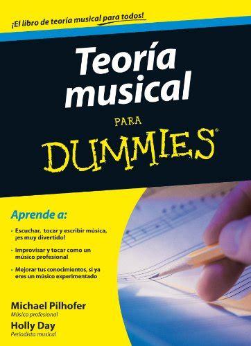 libro piano para dummies leer libro teor 237 a musical para dummies descargar libroslandia