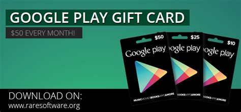 Free Gift Cards Google Play - 50 free google play gift card rare software