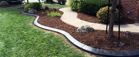 Landscape Curbing Concrete Curbing Landscaping Sod Snow Removal
