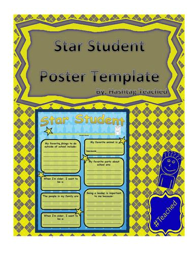 student poster template display photographs by uk teaching resources tes