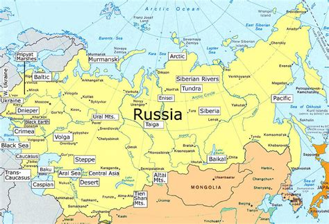 map of siberia russia with cities russia map maps of cities