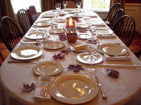 table settings for dinner studios thanksgiving wrap up