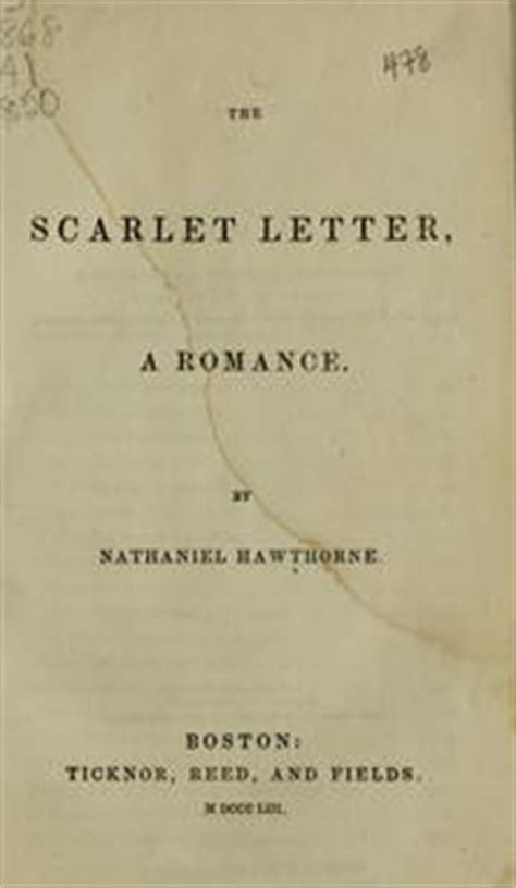 scarlet letter book cover the scarlet letter 1850 edition open library