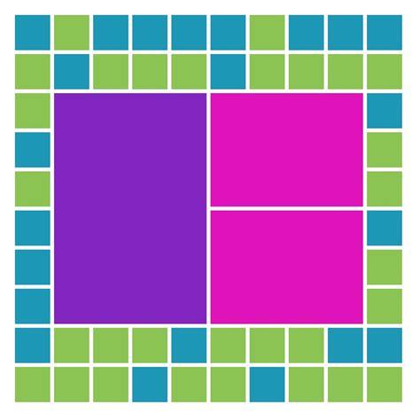 grid pattern mosaic how to embellish mosaic layouts