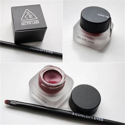 3ce Gel Eyeliner Brush bntnews review gorgeous eye makeup