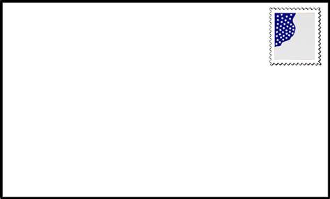 letter envelope format envelope clipart 1759