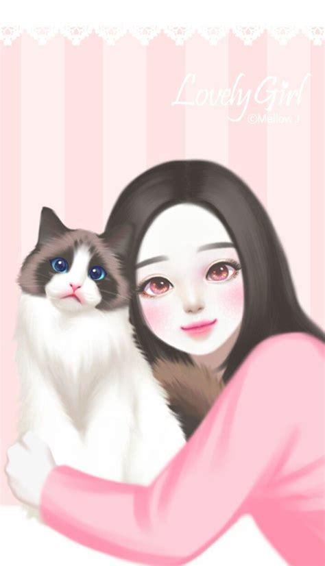 cute korean cat wallpapers top  cute korean cat