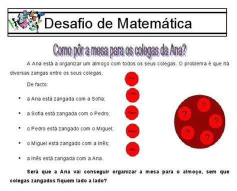 http desafio matematicos 5 b desafios matem 225 ticos