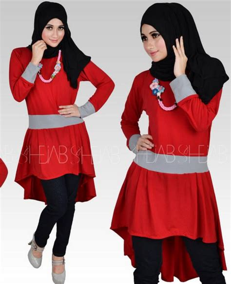 Kaos Terkini barlintiy trend fashion baju muslim kekinian