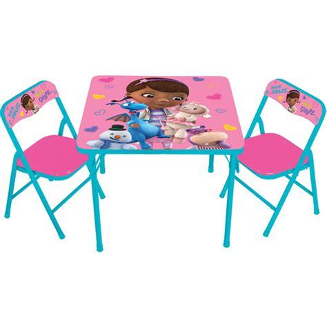 Doc Mcstuffins Table L by Disney Doc Mcstuffins Activity Table Set Walmart