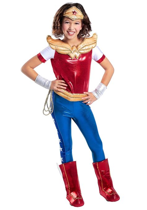 superhero halloween costumes for girls dc superhero girls wonder woman costume