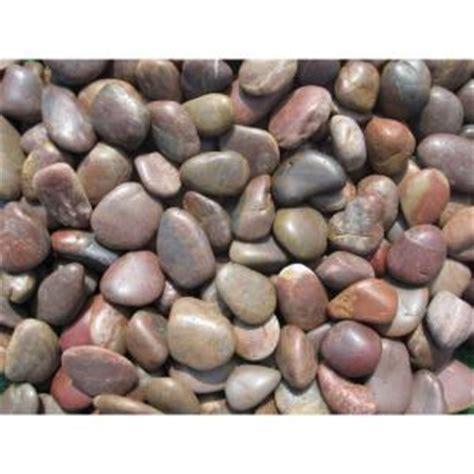 ms international 40 lb large polished pebbles bag