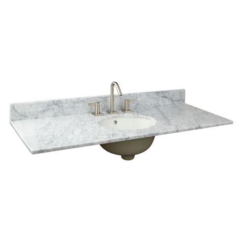 49 vanity top with sink 49 quot x 19 quot marble vanity top for undermount sink single