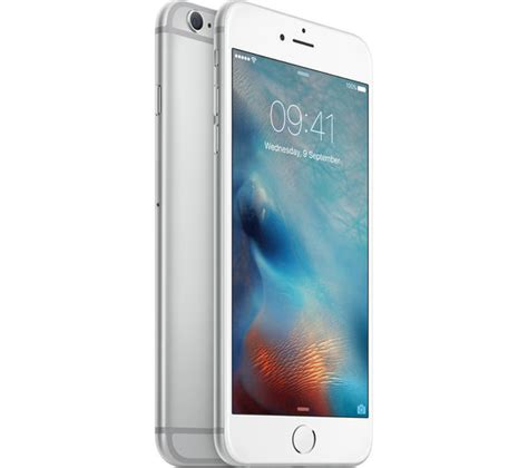 buy apple iphone 6s plus 64 gb silver free delivery currys