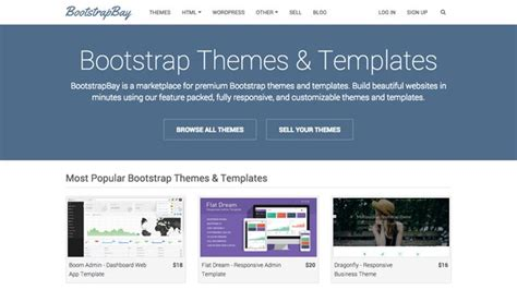 bootstrap v2 3 2 themes bootstrapbay we re a marketplace for premium bootstrap