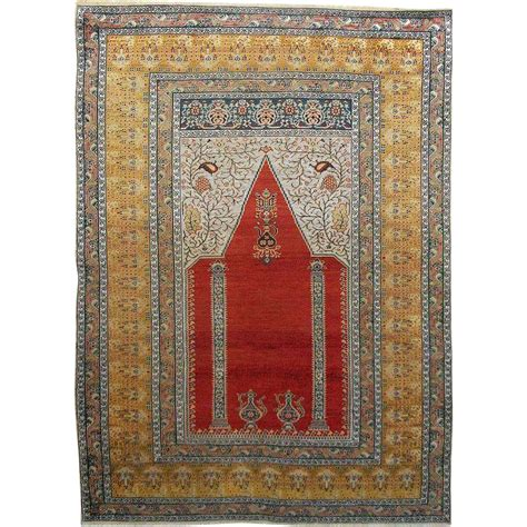 turkish prayer rug antique turkish prayer rug carpet c late 19th century turkey from aa on ruby