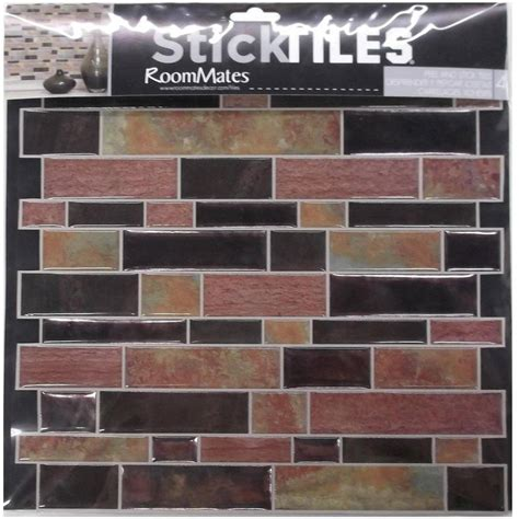 wall decorative wall with stick on backsplash for kitchen